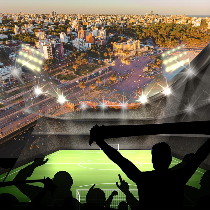 Final de Libertadores 2021 Montevidéu - 4º Lote